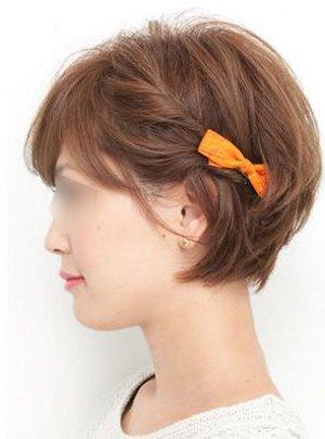 体育祭・運動会の簡単髪型アレンジ ショートも編み込みやアクセサリーでかわいくアレンジ